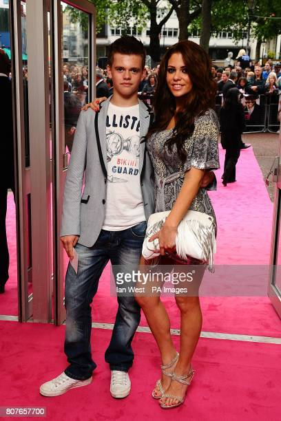 Bianca Gascoigne and guest arriving for the UK Premiere of Killers at the Odeon West End Leicester Square London