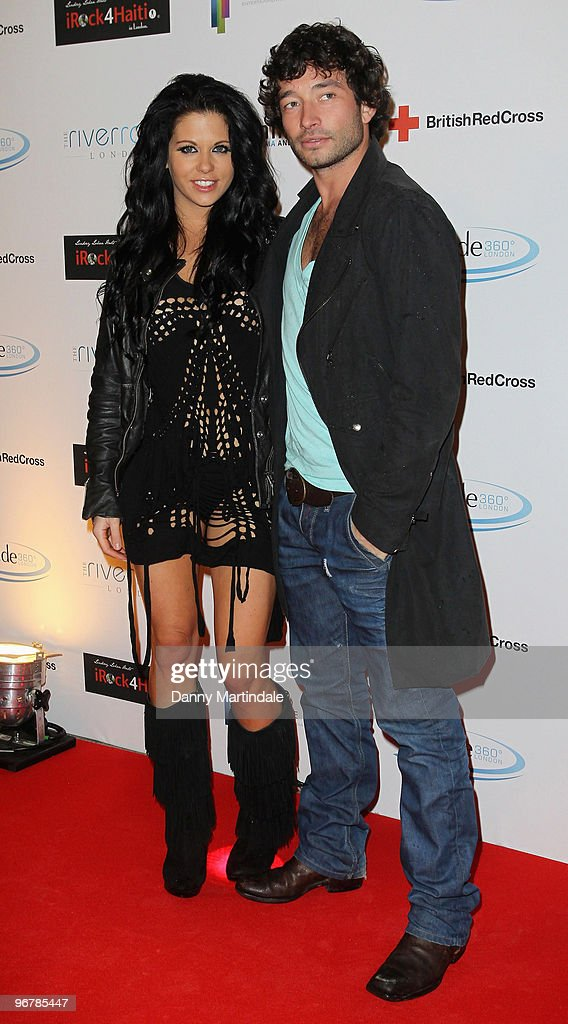 Bianca Gascoigne and guest attend screening party for The Brit Awards 2010 at Altitude on February 16, 2010 in London, England.