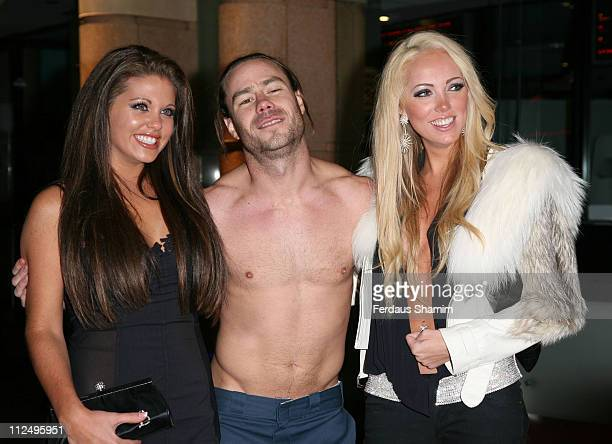 Bianca Gascoigne Chris Pontius and Aisleyne Horgan Wallace