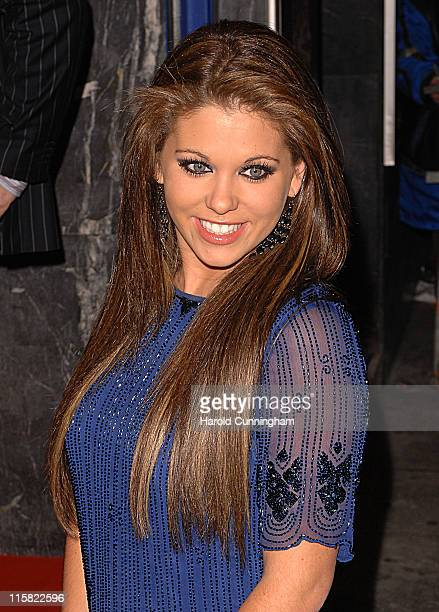 Bianca Gascoigne during 'Night at the Museum' Charity Screening in London in London Great Britain