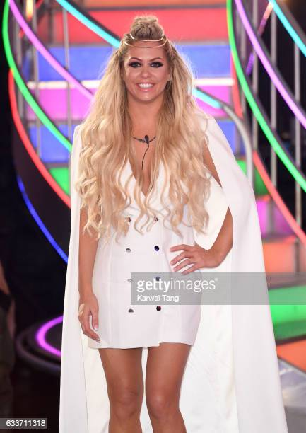 Bianca Gascoigne is evicted from the Celebrity Big Brother house on February 3 2017 in Borehamwood United Kingdom