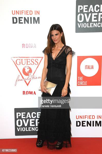 Bianca Guaccero Attends The Guess Foundation Denim Day 2017 At