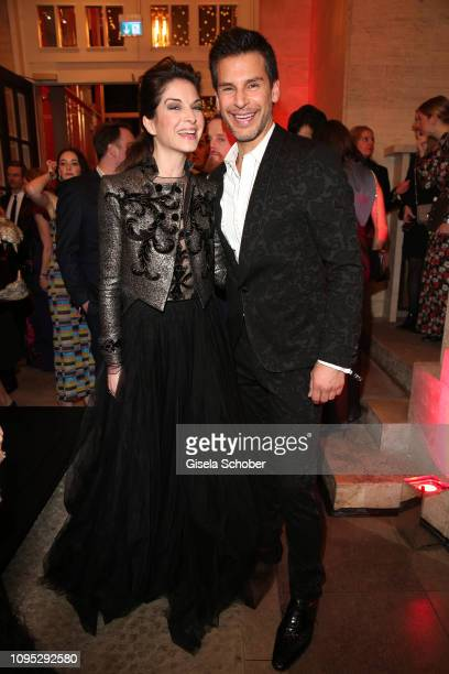 Bianca Hein and Florian Odendahl attend the Berlinale Opening Night by GALA & UFA Fiction at Das Stue on February 07, 2019 in Berlin, Germany.
