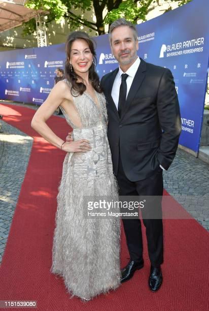 Bianca Hein and Manou Lubowski attend the Bayerische Fernsehpreis 2019 at Prinzregententheater on May 24, 2019 in Munich, Germany.
