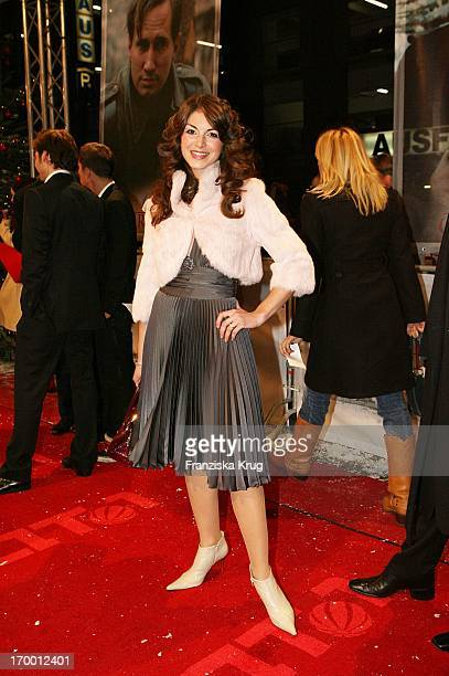Bianca Hein at The 'Merry Christmas' Premiere In The Comic Opera in Berlin 231105.