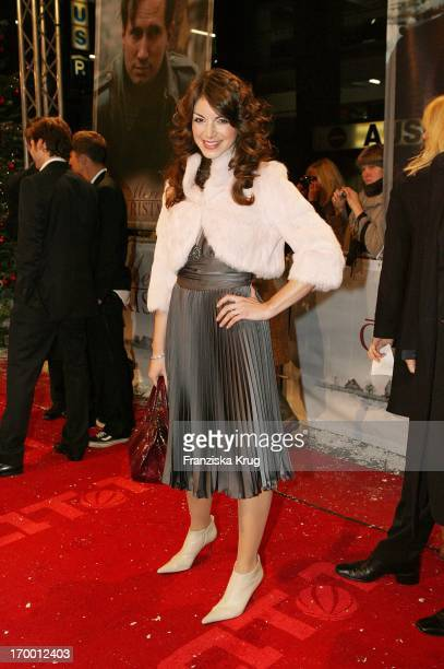 """Bianca Hein At The Premiere Of """"Merry Christmas"""" In The Comic Opera in Berlin."""