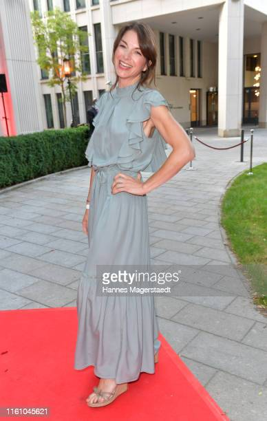 Bianca Hein attends the Red Summer Night by Bunte.de at Rocco Forte The Charles Hotel on July 09, 2019 in Munich, Germany.