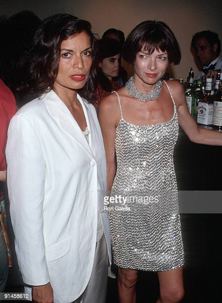 Bianca Jagger and Anna Wintour
