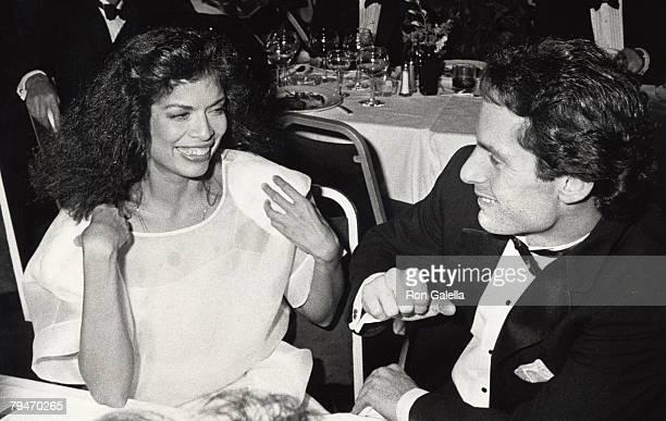 Bianca Jagger and Glenn Dubin