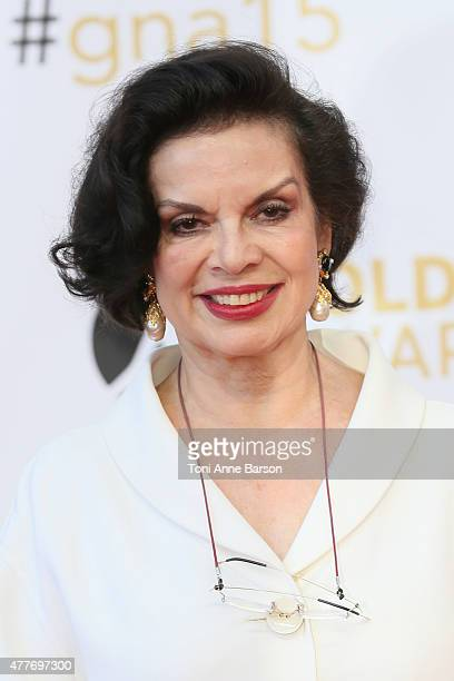 Bianca Jagger attends the 55th Monte Carlo TV Festival Closing Ceremony and Golden Nymph Awards at the Grimaldi Forum on June 18 2015 in MonteCarlo...