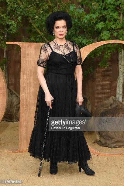 Bianca Jagger attends the Christian Dior Womenswear Spring/Summer 2020 show as part of Paris Fashion Week on September 24 2019 in Paris France