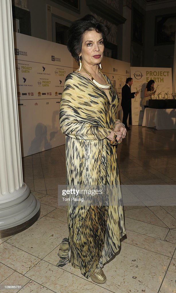 Bianca Jagger attends the Cinema for Peace Gala at the Konzerthaus am Gendarmenmarkt during day five of the 61st Berlin International Film Festival on February 14, 2011 in Berlin, Germany.