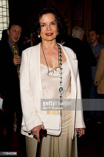 Bianca Jagger attends The New Statesman Centenary Party at Great Hall on June 20 2013 in London England