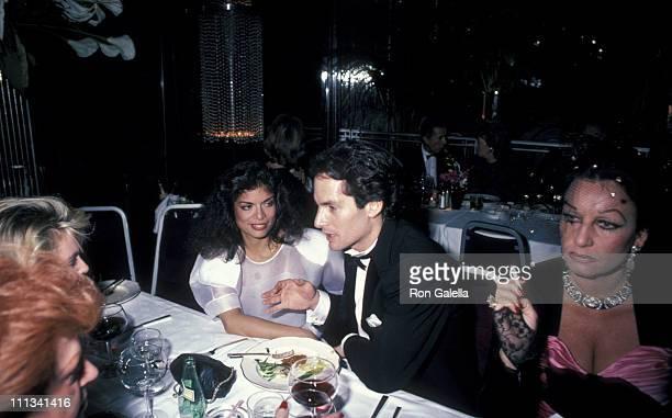 Bianca Jagger, Glenn Dubin, and Guest