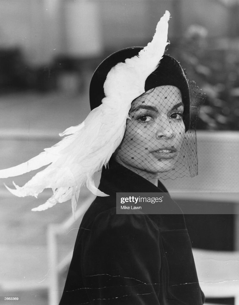 Bianca Jagger, Nicaraguan wife of Mick Jagger, and winner of the 1972 Woman of the Year Hat Award.
