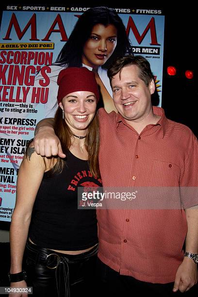 Bianca Kajlich and Keith Blanchard EditorinChief of Maxim