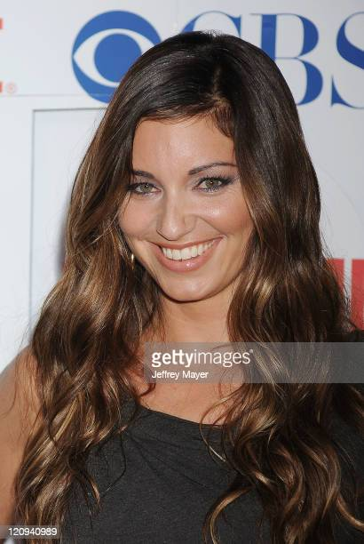 Bianca Kajlich arrives at the TCA Party for CBS The CW and Showtime held at The Pagoda on August 3 2011 in Beverly Hills California