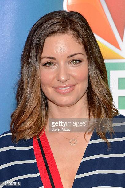 Bianca Kajlich attends The 2015 NBC Upfront Presentation at Radio City Music Hall on May 11 2015 in New York City