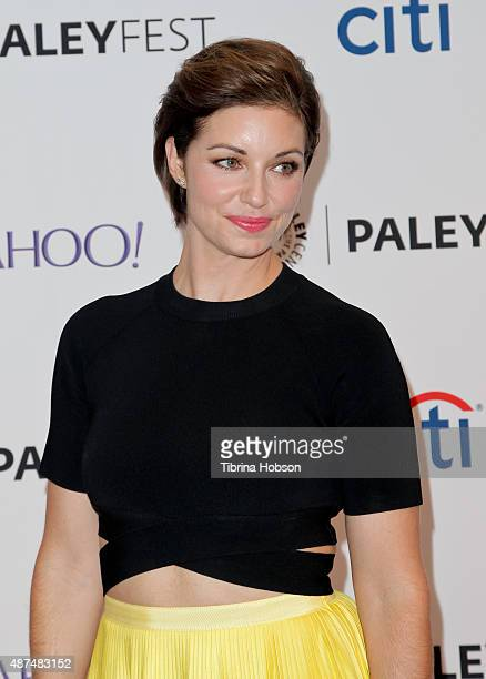 Bianca Kajlich attends the PaleyFest 2015 fall TV preview at The Paley Center for Media on September 9 2015 in Beverly Hills California