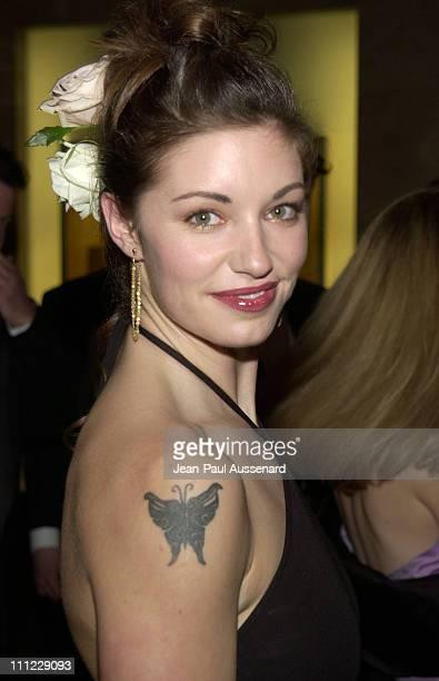 Bianca Kajlich during 2002 ACE Eddie Awards at Beverly Hilton Hotel in Beverly Hills California United States