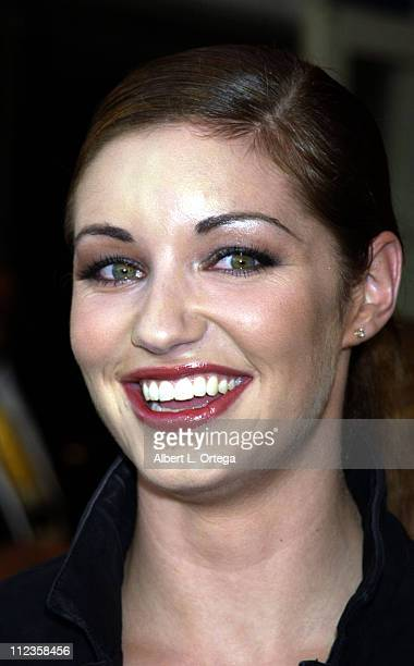 Bianca Kajlich during Halloween Resurrection Premiere at Mann's Festival Theater in Westwood California United States