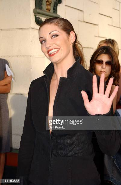 Bianca Kajlich during Premiere of Dimensions Films Halloween Resurrection in Los Angeles California United States