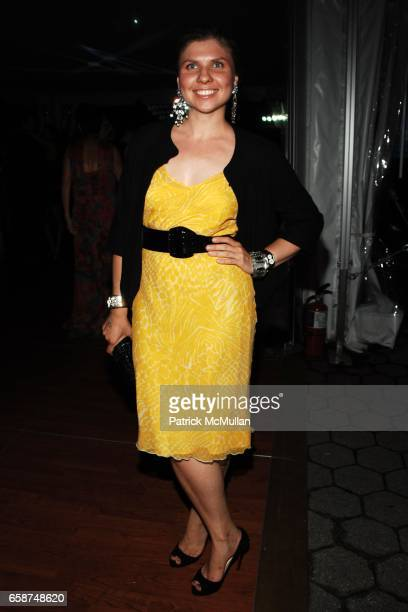 Bianca Kawecki attends the Wildlife Conservation Society's Central Park Zoo '09 Gala at the Central Park Zoo on June 10 2009 in New York City