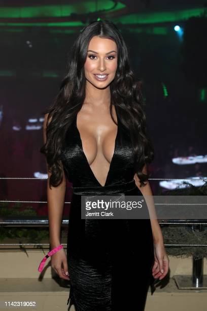 Bianca Kmiec is seen as Fashion Nova Presents Party With Cardi at Hollywood Palladium on May 8 2019 in Los Angeles California