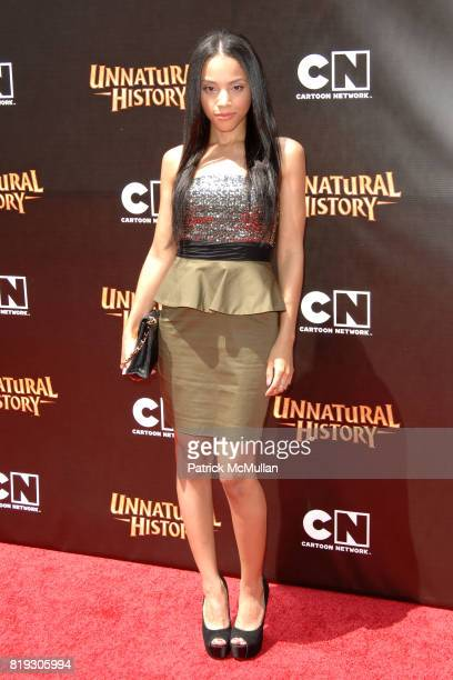 Bianca Lawson attends Cartoon Network Hosts RedCarpet World Premiere of 'Unnatural History' at Steven J Ross Theater on June 12 2010 in Warner Bros...