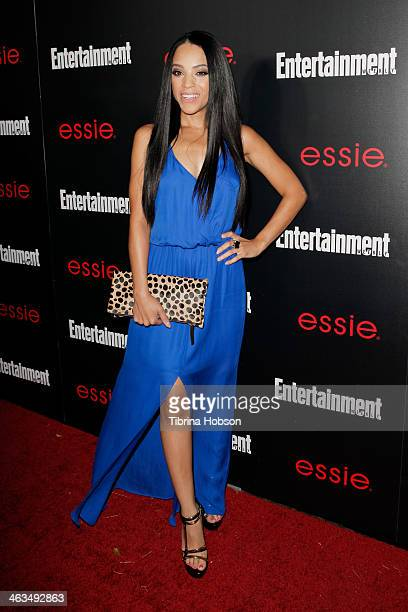 Bianca Lawson attends the Entertainment Weekly SAG Awards preparty at Chateau Marmont on January 17 2014 in Los Angeles California