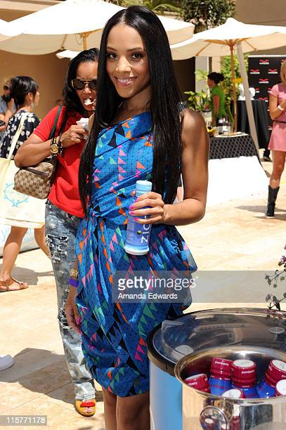 Bianca Lawson attends the Kari Feinstein MTV Movie Awards Style Lounge held at Montage Beverly Hills on June 4 2010 in Beverly Hills California