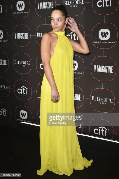 Bianca Lawson attends the Warner Music Group PreGrammy Celebration at Nomad Hotel Los Angeles on February 7 2019 in Los Angeles California