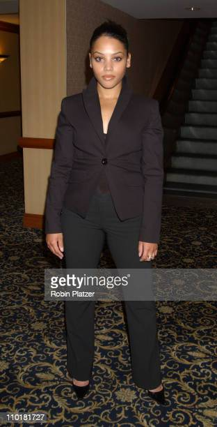 Bianca Lawson during WB Television Network 2003 2004 Upfront Presentation at Sheraton Hotel in New York NY United States