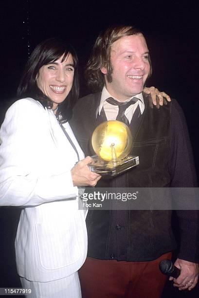 Bianca Li and Philippe Katerine during Paris Premiere Les Globes de Cristal 2007 Awards Ceremony February 15 2007 in Paris France