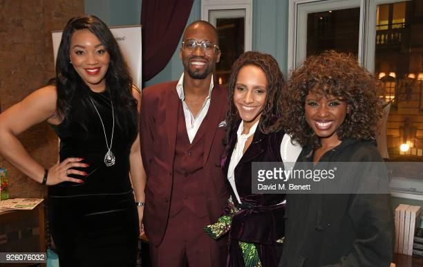 Bianca Miller Cole Byron Cole Afua Hirsch and June Sarpong attend the launch of the 'London's Big Read' campaign in celebration of World Book Day at...