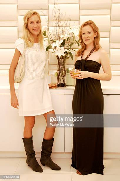 Bianca Pratt and Nancy Kagan attend NAVAN Chill Out With CLEO Spa and Salon at Cleo on June 30 2008 in New York City