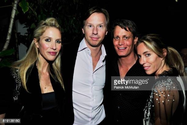 Bianca Pratt Christopher Getty Matthew Mellon Nicole Hanley attend NICOLAS BERGGRUEN's 2010 Annual Party at the Chateau Marmont on March 3 2010 in...