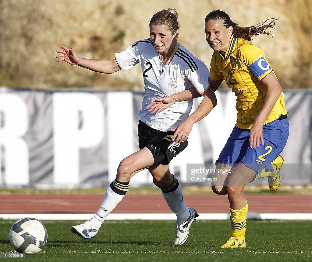 Sweden v Germany - Algarve Cup