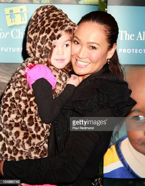 Bianca Wakelin and actress Tia Carrere arrive at Alliance For Children's Rights Hosts 3rd Annual Dinner With Friends on October 5 2010 in Hollywood...