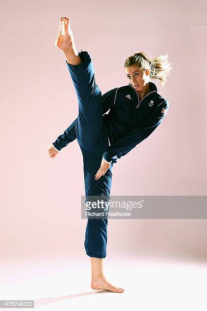 Bianca Walkden of Team GB during the Team GB kitting out ahead of Baku 2015 European Games at the NEC on May 30 2015 in Birmingham England