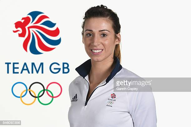 Bianca Walkden poses for a portrait during Team GB kitting out ahead of Rio 2016 Olympic Games on June 26 2016 in Birmingham England