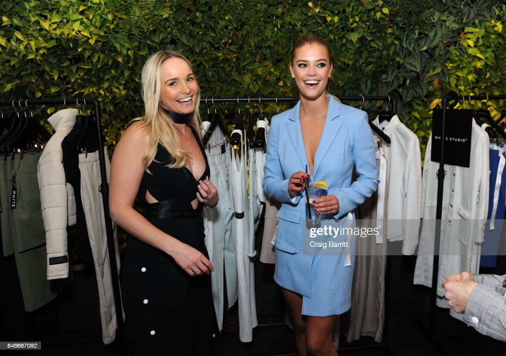 Bianca Whyte and Nina Agdal attends the Whyte Studio NYFW Launch Dinner hosted by Bianca Whyte and Jamie Frankel at Hotel Hugo on September 13, 2017 in New York City.