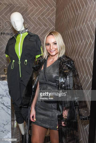 Bianca Whyte attends Fashion Designer Bianca Whyte's Launch Of Her LondonBased Fashion Label Whyte Studio At Topshop at TopShop on February 20 2019...