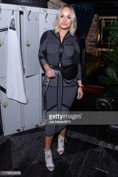 Bianca Whyte attends the Whyte Studio After Party during London Fashion Week 2019 on September 17, 2019 in London, England.