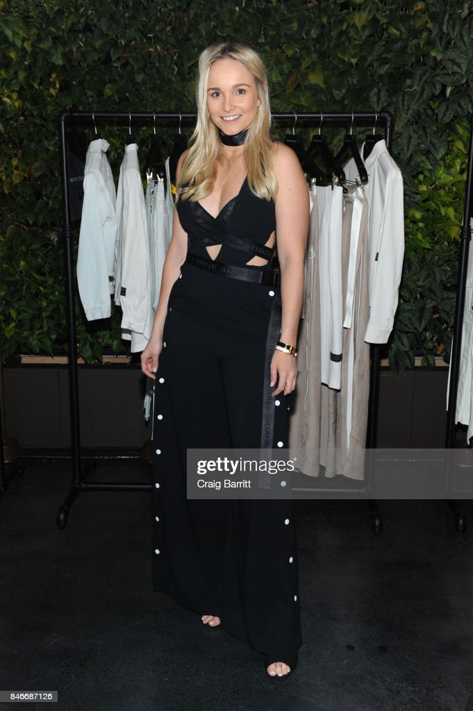 Bianca Whyte attends the Whyte Studio NYFW Launch Dinner hosted by Bianca Whyte and Jamie Frankel at Hotel Hugo on September 13, 2017 in New York City.
