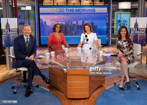 Bianna Golodryga joins from left John Dickerson Gayle King Norah O'Donnell as cohost of CBS This Morning