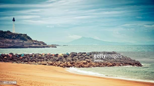 Biarritz lighthouse.