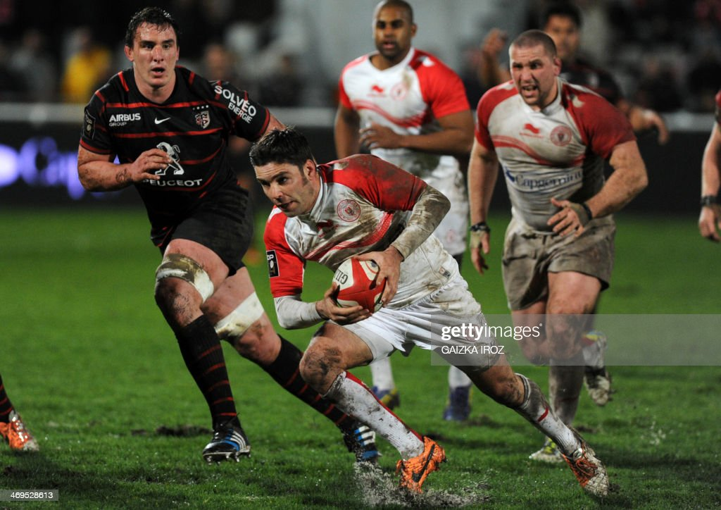 RUGYU-FRA-TOP 14-BIARRITZ-TOULOUSE : News Photo