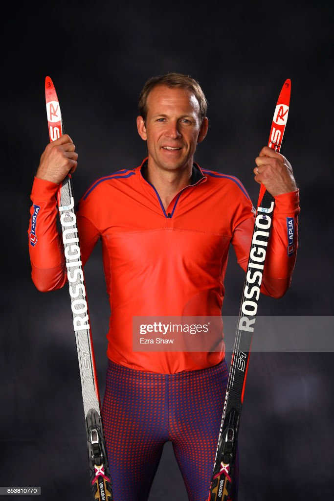 Biathlete Lowell Bailey poses for a portrait during the Team USA Media Summit ahead of the PyeongChang 2018 Olympic Winter Games on September 25, 2017 in Park City, Utah.