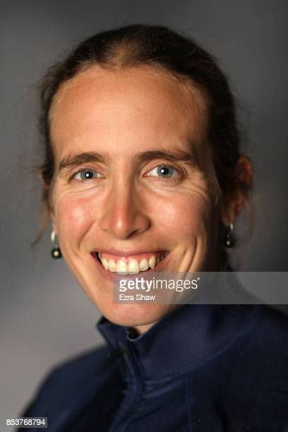 Biathlete Susan Dunklee poses for a portrait during the Team USA Media Summit ahead of the PyeongChang 2018 Olympic Winter Games on September 25,...